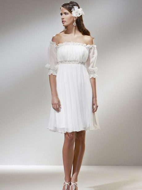 short informal wedding dresses
