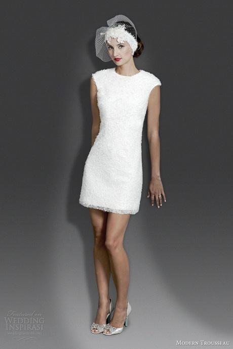 short modern wedding dresses