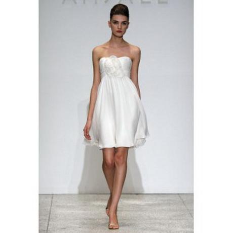 Short wedding dress designers for Short couture wedding dresses