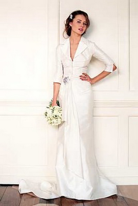 Simple classic wedding dresses for Simple designer wedding dresses