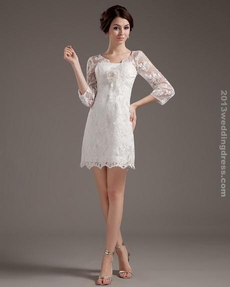 Simple Wedding Dresses Short