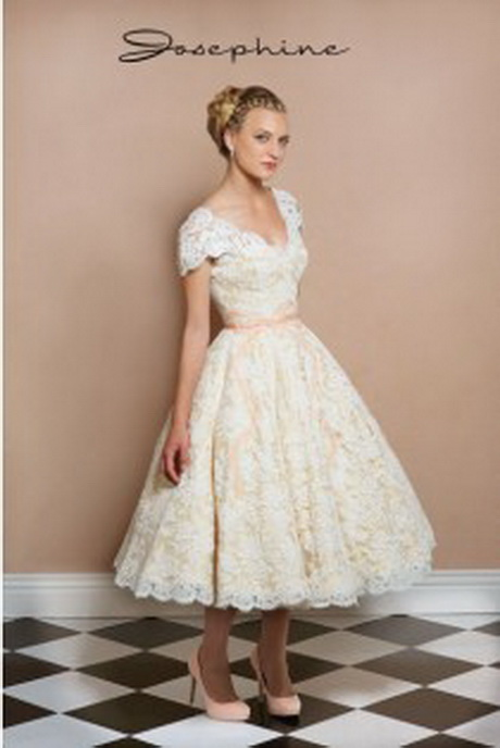 Vintage Wedding Dresses Short