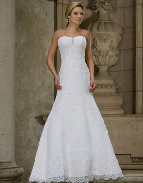 White simple wedding dresses for Simple white dresses for wedding