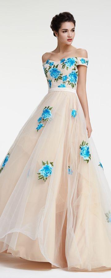 All White Prom Dresses 2018