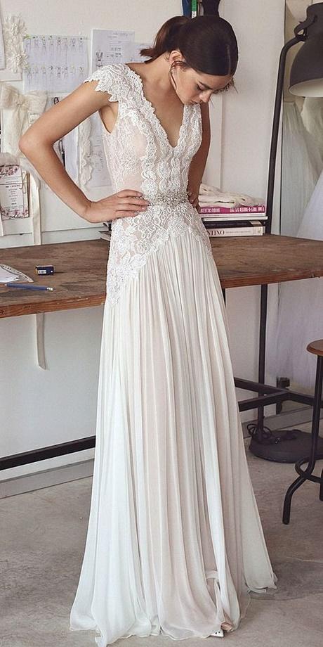 Best wedding dress designers 2018 for Top 5 wedding dress designers
