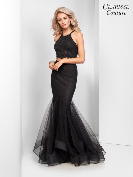 Black 2018 Prom Dresses