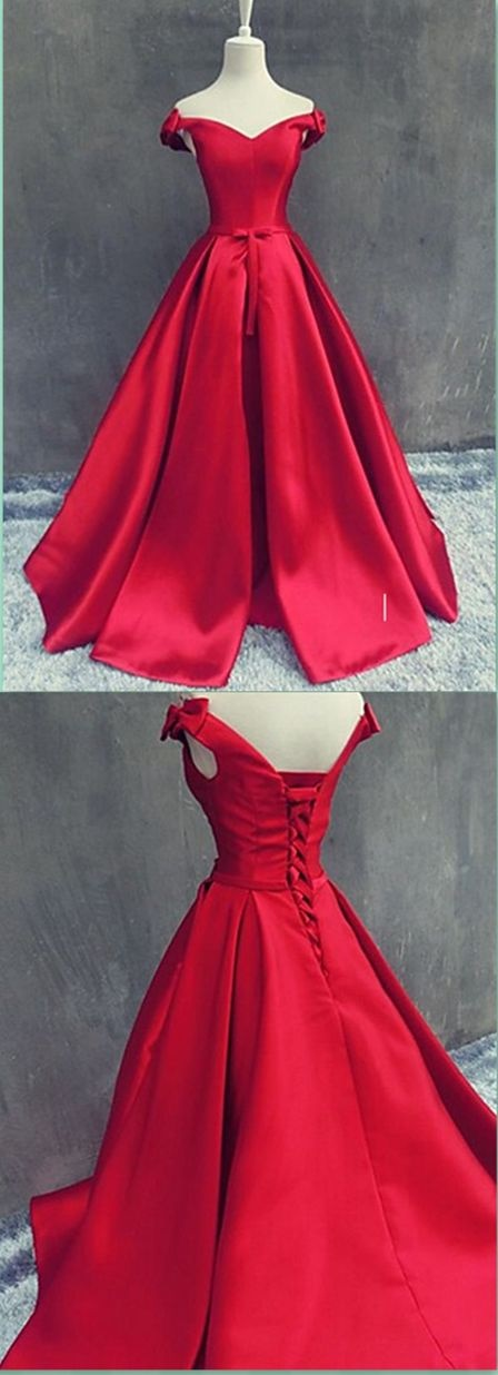 black and red prom dresses 2018