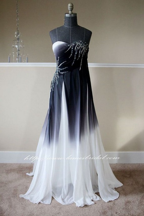 Black And White Prom Dresses 2018
