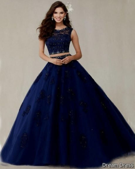 Blue Quinceanera Dresses 2018