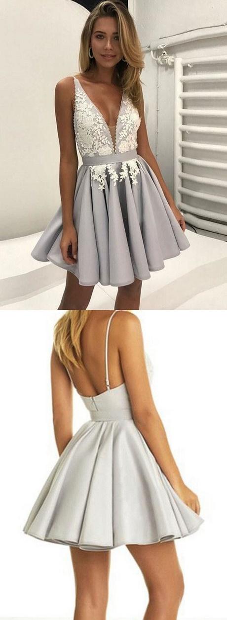 White Two Piece Prom Dress