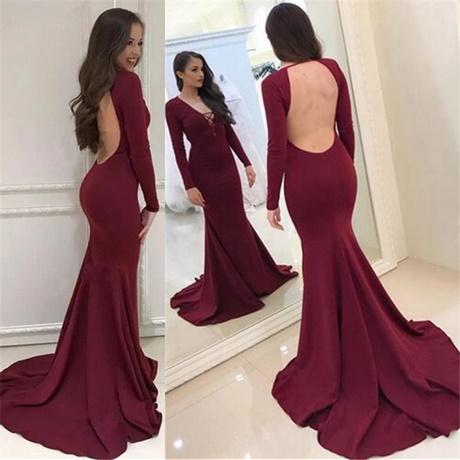 Long sleeve prom dresses 2018