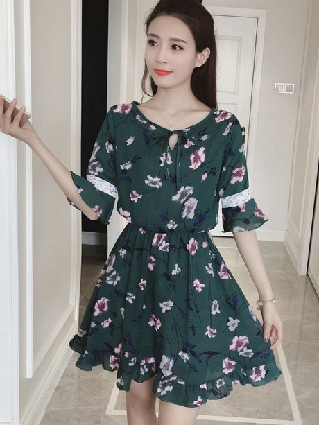 summer dresses with sleeves 2018