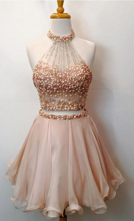 Two Piece Homecoming Dresses 2018