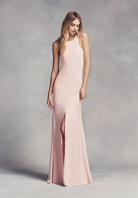 Vera wang bridesmaid dresses blush