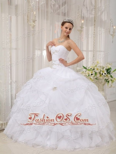 White Quinceanera Dresses 2018