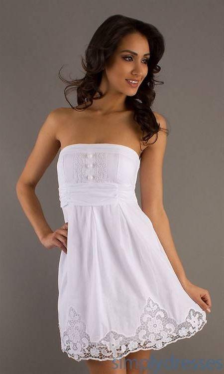White Summer Dresses 2018