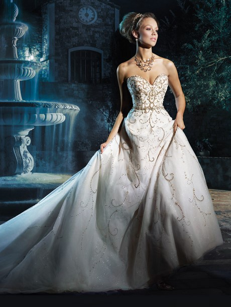 Wedding Dresses By Alfred Angelo 2017 : Wedding dress disney cinderella alfred angelo