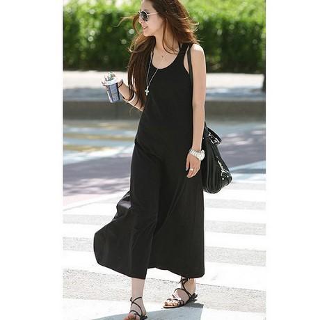 Black Long Dress Casual