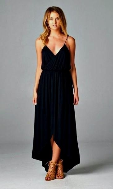 Black Long Dress Casual