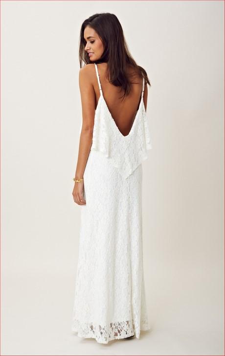 casual white sundress 16 14 - amazon beach wedding dresses