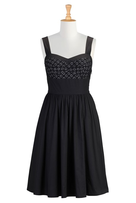 Cute Black Summer Dresses