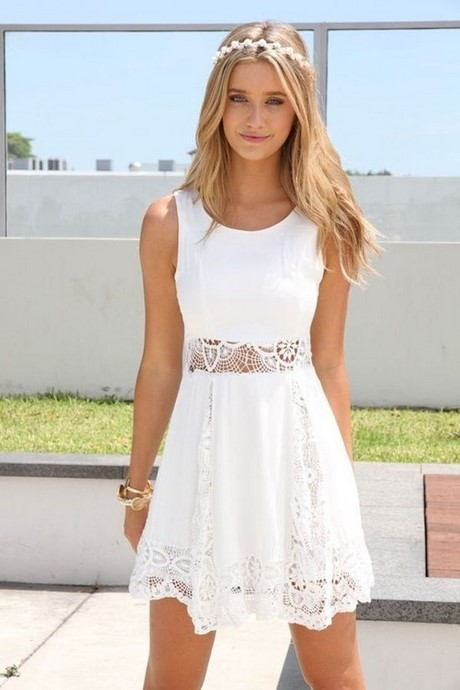white dress summer fashion must have dress white trend
