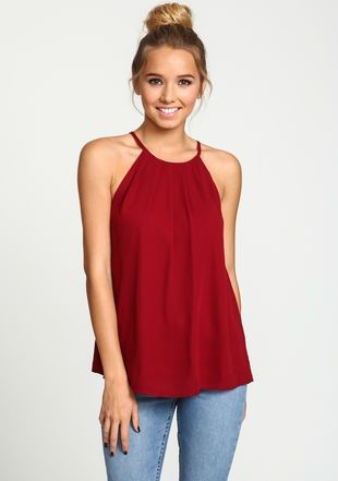 Cute Red Shirts For Juniors