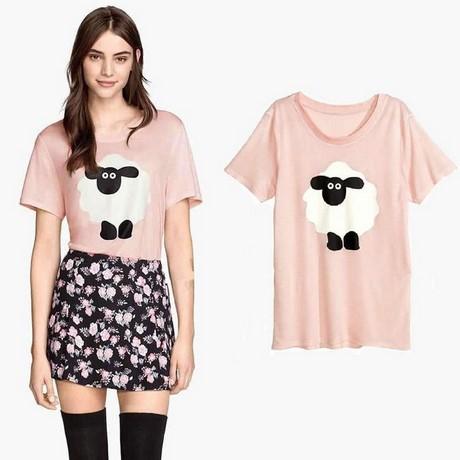 Chiffon Mini Dress - V Neckline / Loose Fit / Long Sleeve / Swing