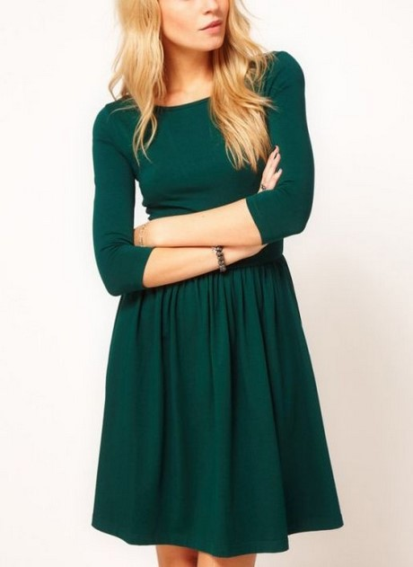 green dress casual