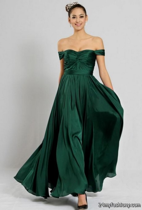 Green prom dresses 2017