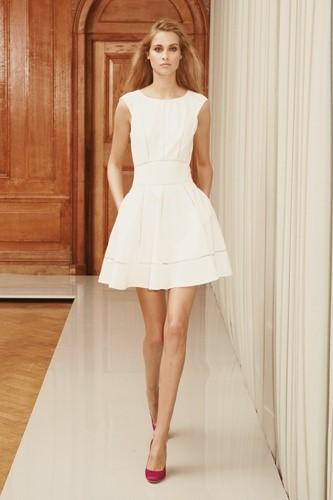 little white summer dress