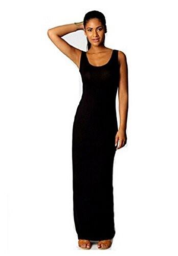 Long Casual Black Dress
