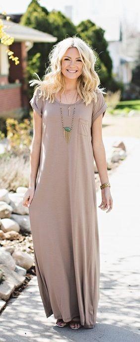 long dress casual summer