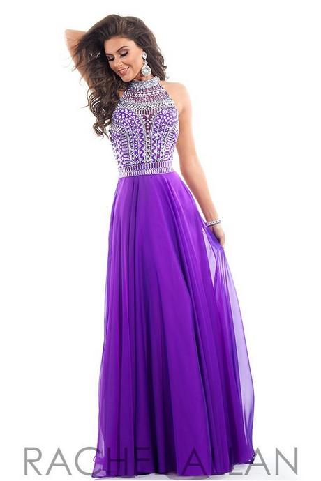 Purple prom dresses 2017