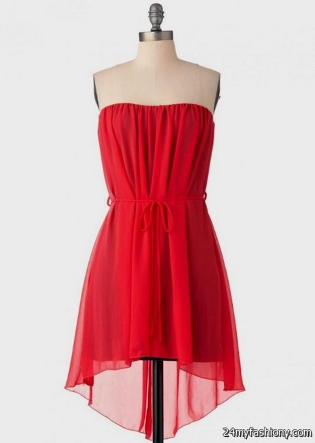 Red Dresses Casual