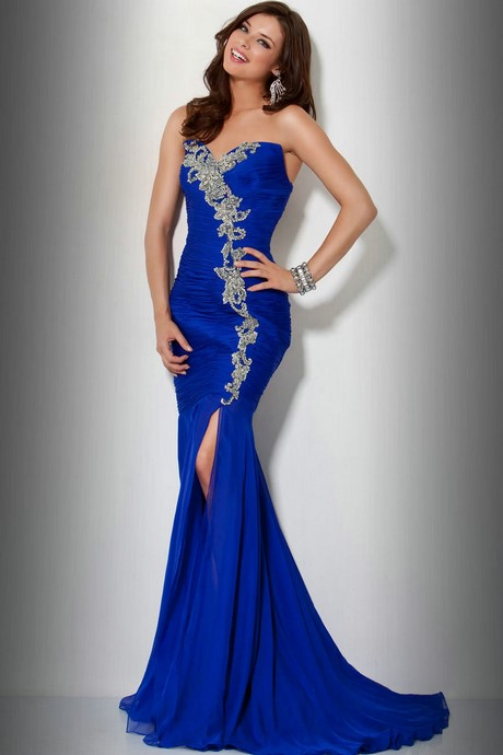Special Occasion Dresses In Royal Blue 117