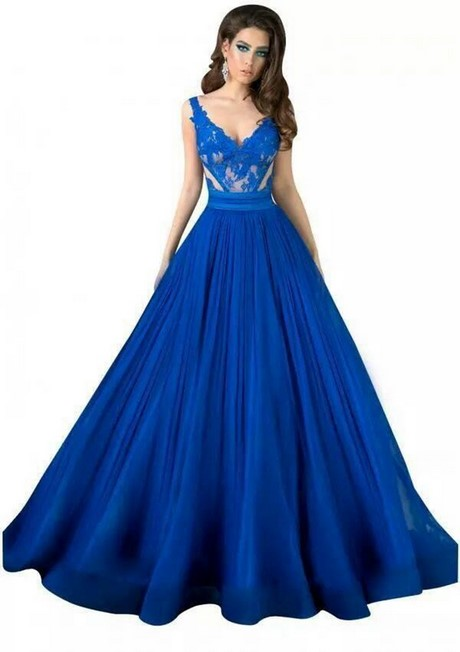 Special Occasion Dresses In Royal Blue 11