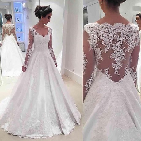 Wedding Gowns With Short Sleeves 2017 100