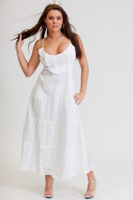 White long summer dress