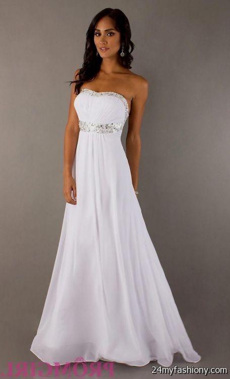 White prom dresses 2017 White Prom Dress