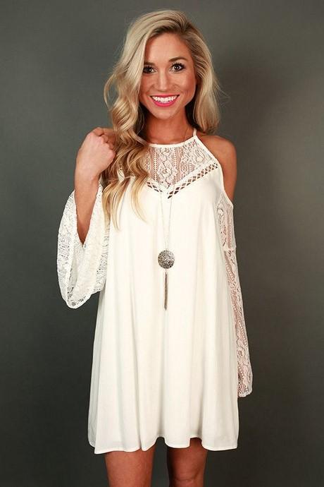 White Summer Dress For Women