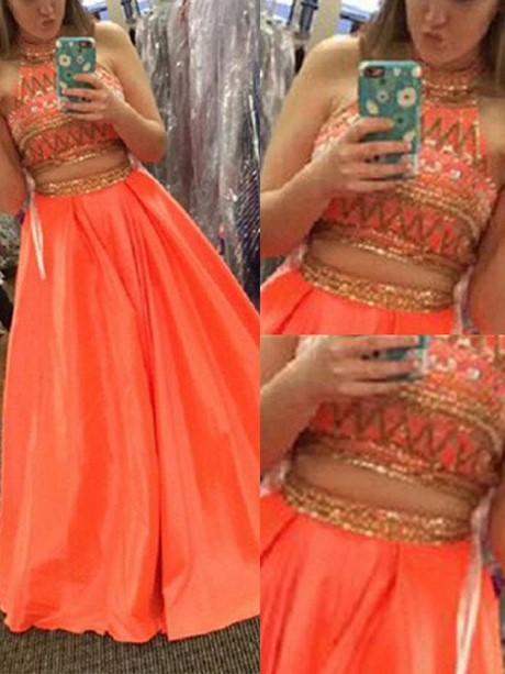Orange Prom Dresses 2019
