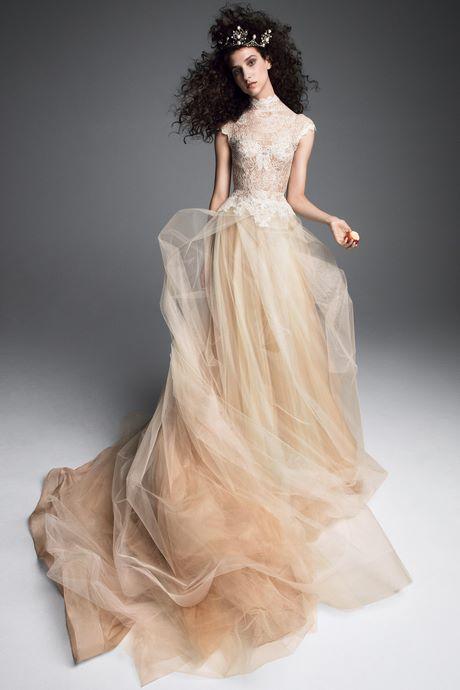 bce8354a5a4 Vera Wang Bridal Fall 2019 Fashion Show in 2019