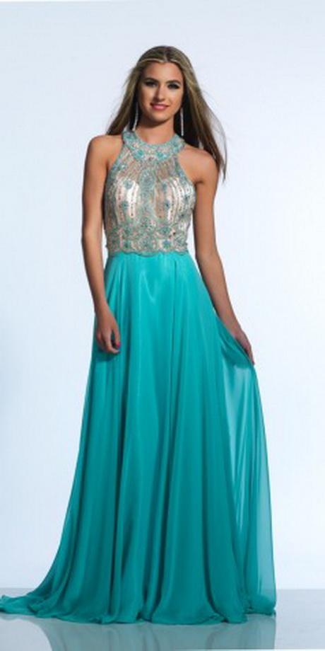 Blue mermaid prom dress