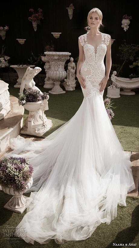 Naama anat fall 2016 bridal dresses beautiful mermaid wedding dress