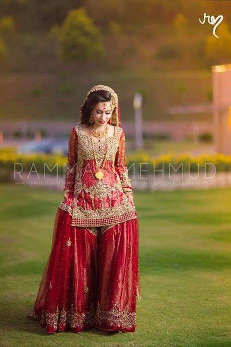 Pakistani bridal dresses 2016 for Pakistani designer wedding dresses