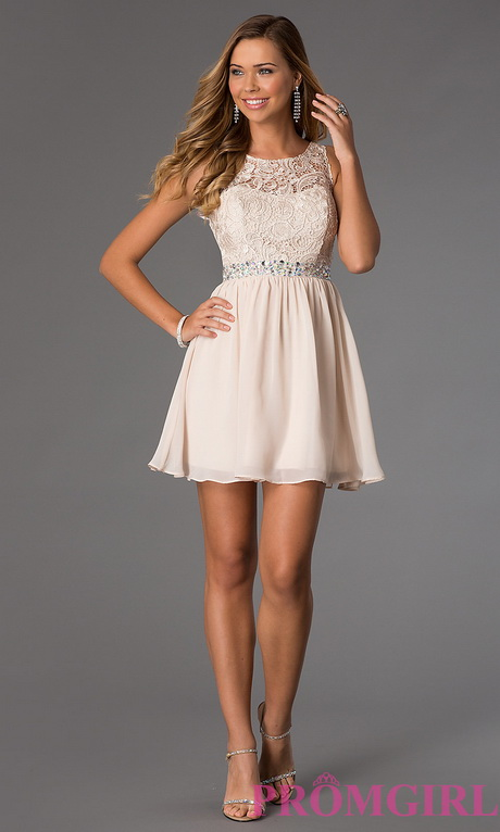 in stock buy short sleeveless dress with lace bodice by masquerade at