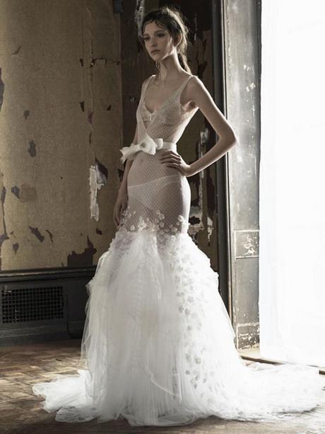 Wedding dress 2016 vera wang for See through wedding dresses
