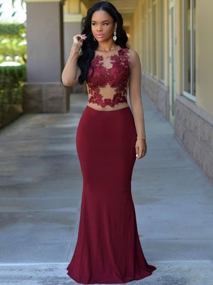 2018 Prom Dresses With Sleeves