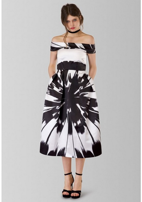 Milly Sleeveless Optical-Print Mermaid Midi Dress, Black/White Details Milly stretch-knit midi dress in vertical optical-illusion stripes. Approx. 41